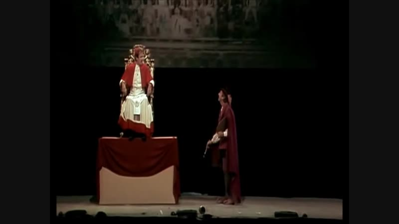 Монти Пайтон в Голливуде (Monty Python Live at the Hollywood Bowl) Микеланджело
