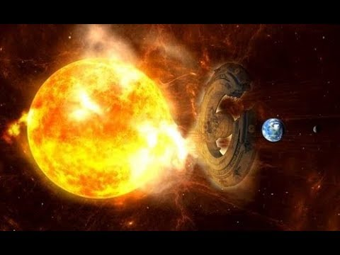 A huge UFO interacted with the Sun to avoid a powerful Solar Storm directed to Earth!