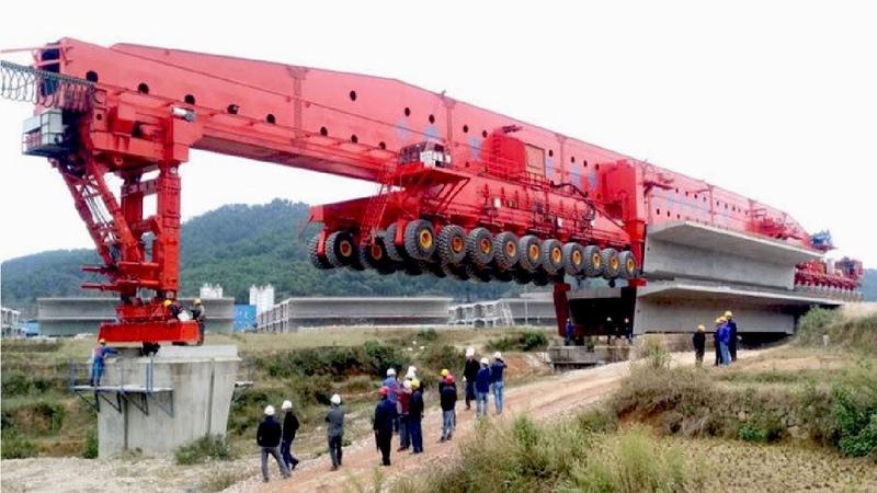 EXTREME Fast Bridge Building Machine - World Amazing Modern Bridge Construction Machinery