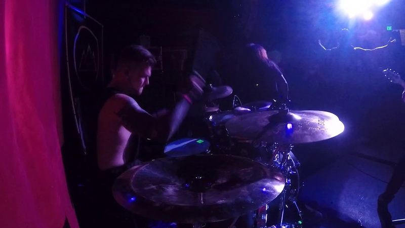 A Trigger Within - A Time to Kill (Live @The Slidebar - drum cam)