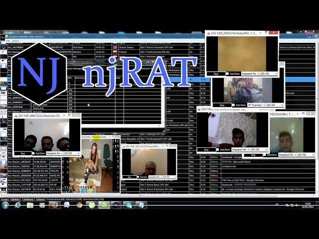 {Вирусология} - Троян njRAT | Как удалить вирус без антивируса