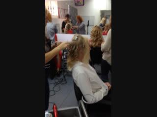 Вечером ждите результаты работы учеников с курса: Текстурные причёски