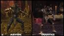 DC Universe MKVSDC Injustice SCORPION Graphic Evolution 2008-2013 | XBOX360 PS4 |