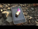 Polenböller vs. iPod Touch