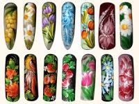 Петриківський розпис нігтів