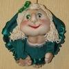 Текстильные куклы, кукла попик от Helen-toys