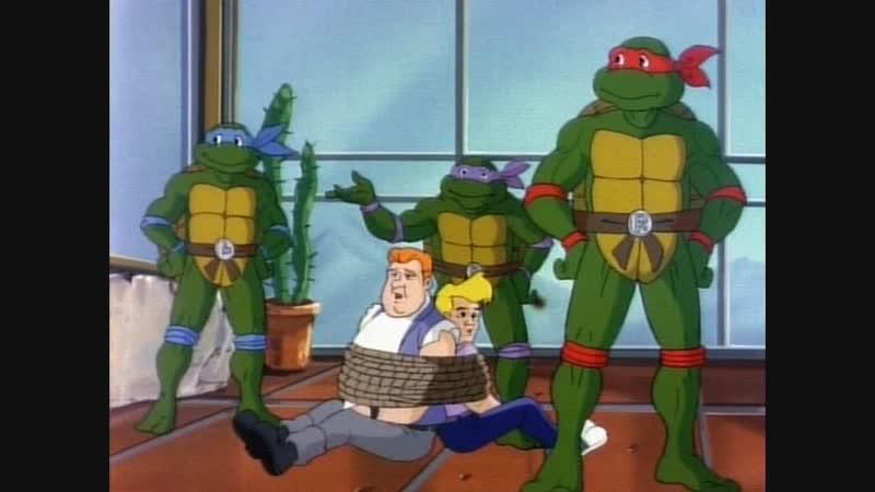 02. Michelangelo Meets Mondo Gecko Черепашки-ниндзя