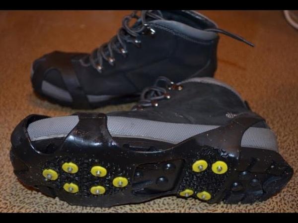Ледоступы для обуви ледоходы NON SLIP 10 шипов