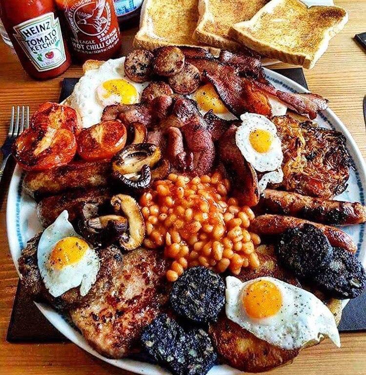 Ирландский завтрак, ещё раз...