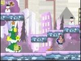 Игра Спанч Боб и Патрик готовятся к рождеству