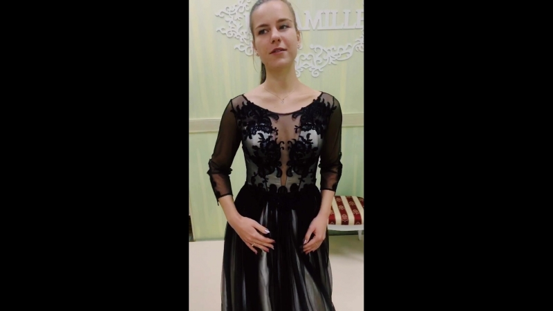 Вечернее платье Флорет