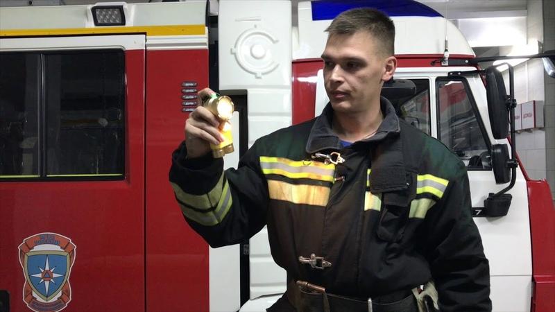 Обзор фонарь Сила Света МЧС Кобура для топора пожарного