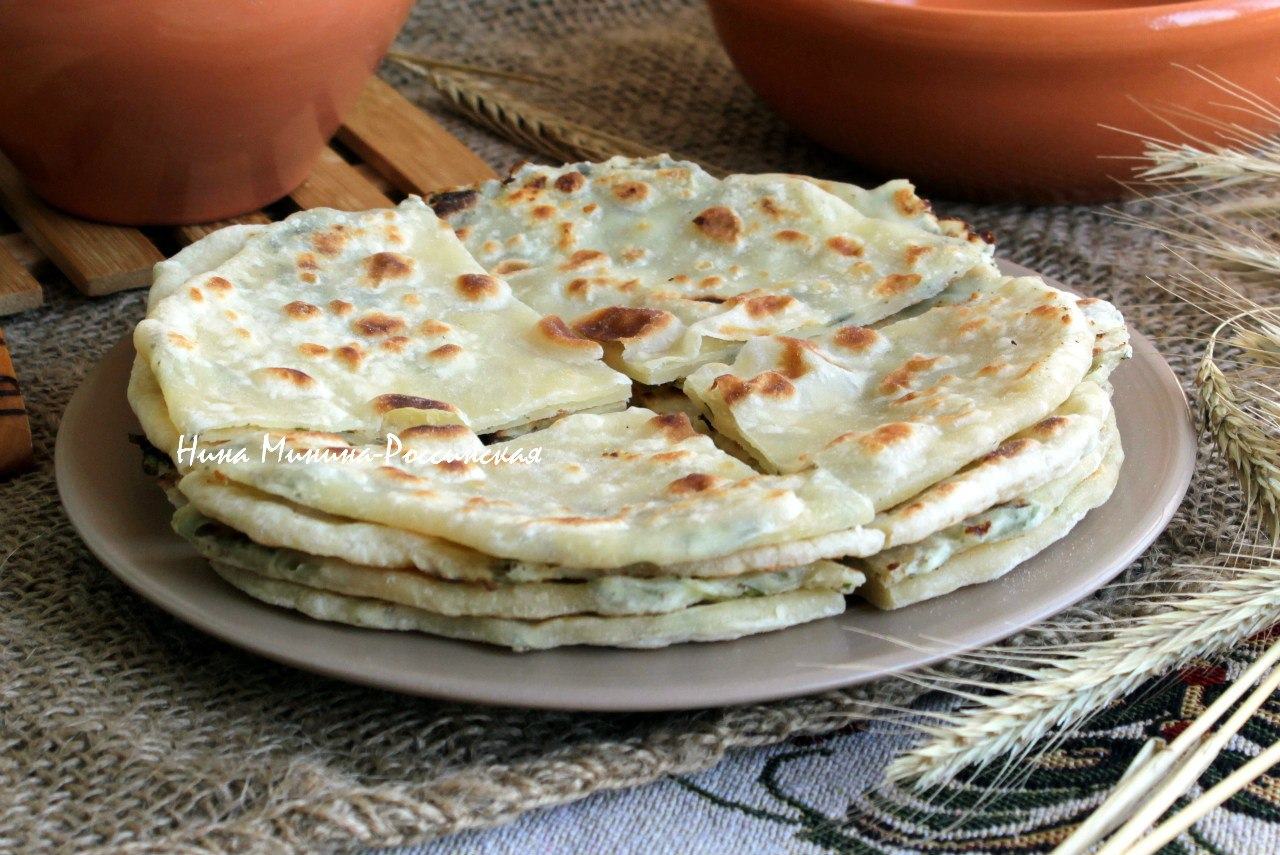 хычины с картошкой и сыром рецепт видео