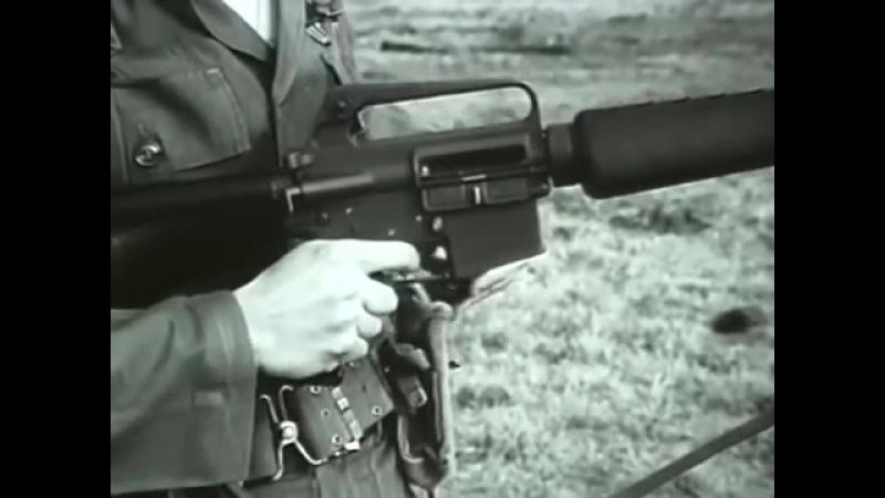 Штурмовая винтовка М16 Учебный фильм для военнослужащих Армии США