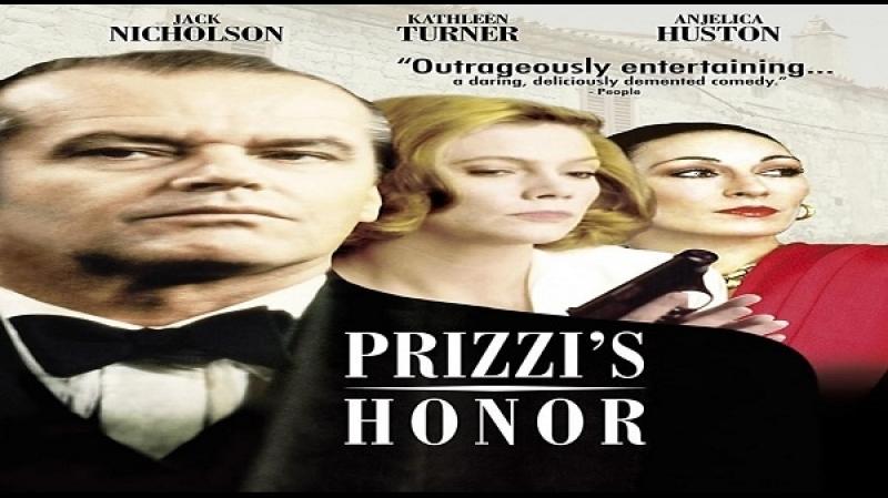 1985 John Huston Prizzi's Honor Jack Nicholson Kathleen Turner Anjelica Huston Robert Loggia