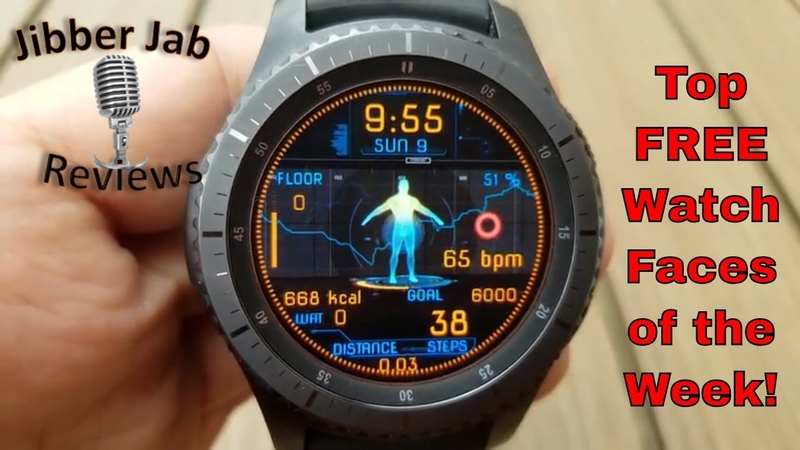 TOP FREE Must See Must Download Samsung Galaxy Watch/Gear S3 Watch Faces! - Jibber Jab Reviews!