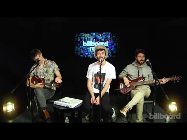 AJR performing Live on Billboard