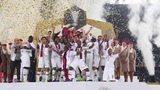 Церемония награждения победителей Кубка Азии - 2019 сборной Катара! AFC Asian Cup UAE 2019 champions Qatar