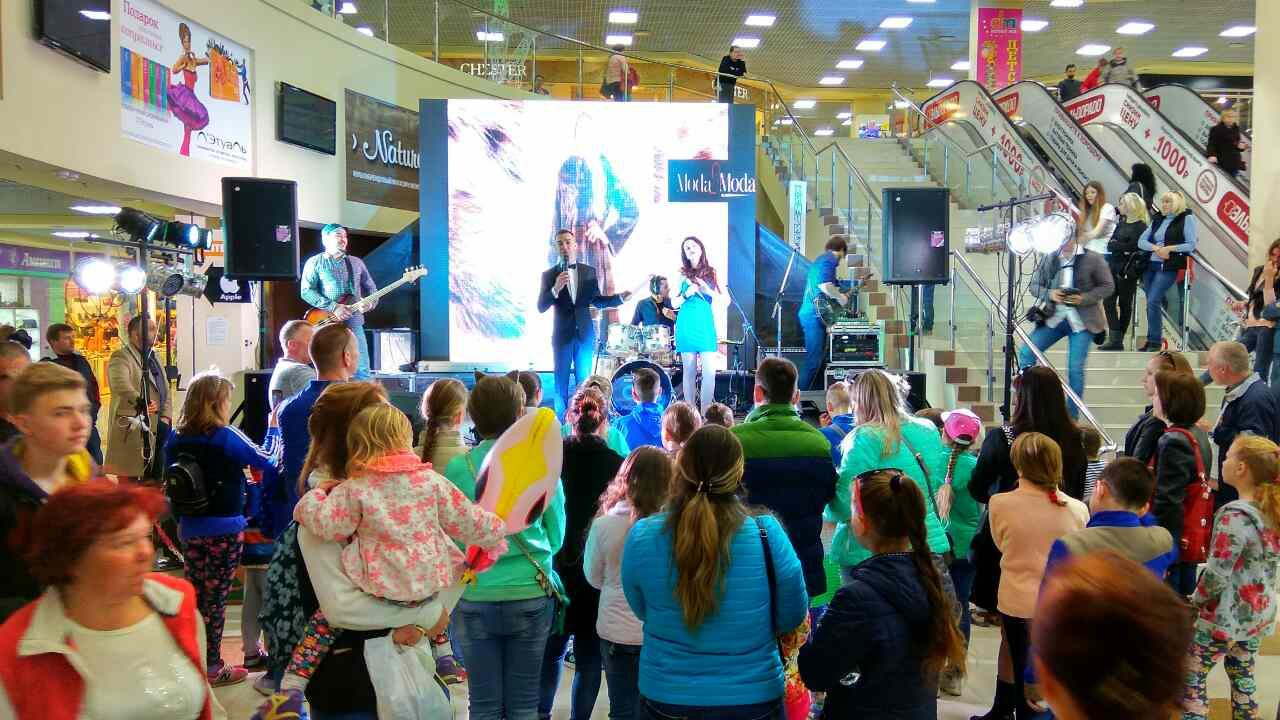 """Группа """"Таврика"""" выступила в торговом центре """"Seamall"""""""