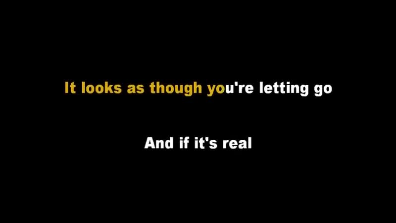 Dont Speak - No Doubt (Acoustic Guitar Karaoke Backing Track with Lyrics)
