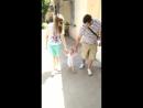 Первая прогулка с родителями