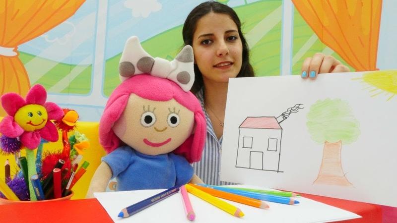 Bebek oyunları. Oyuncak Smarta ile renkleri öğrenelim