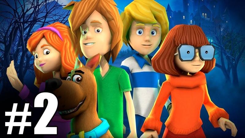 2 Обзор и летсплей по игре Скуби Ду Зловещий замок Letsplay game Scooby Doo First Frights