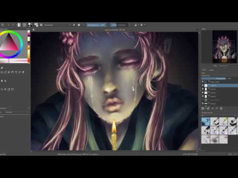 Happy birthday | speedpaint | krita