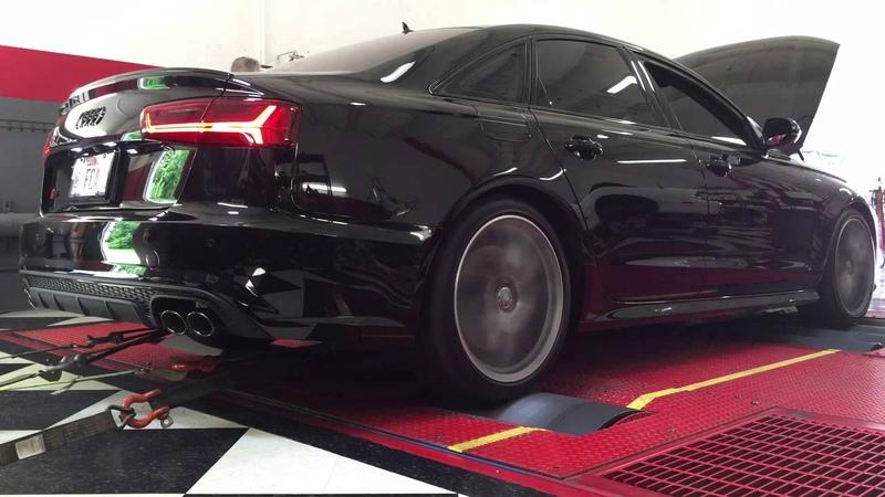 2016 Audi S6 baseline dyno runs