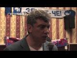 Борис Немцов в баре