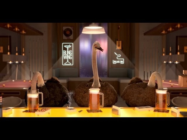The Ostrich politic Animation Short Film 2018 GOBELINS
