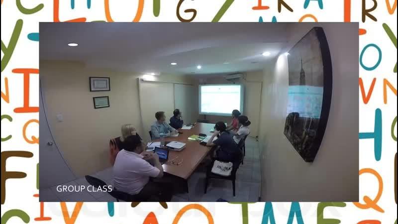 Смотрите как ведутся курсы английского языка в нашей академии на на Тихоокеанском побережье