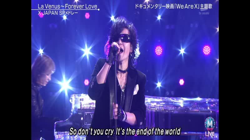 [2017/12/22] X JAPAN - Silent Night La Venus Forever Love (Music Station Super Live)