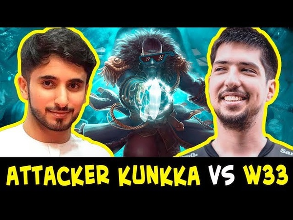 BEST Kunkka Attacker vs w33 Pugna — who counters who