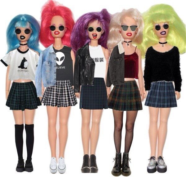 Барби прически
