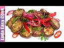Рецепт просят все! Салат из баклажанов по-корейски Нереально вкусный (корейская кухня)