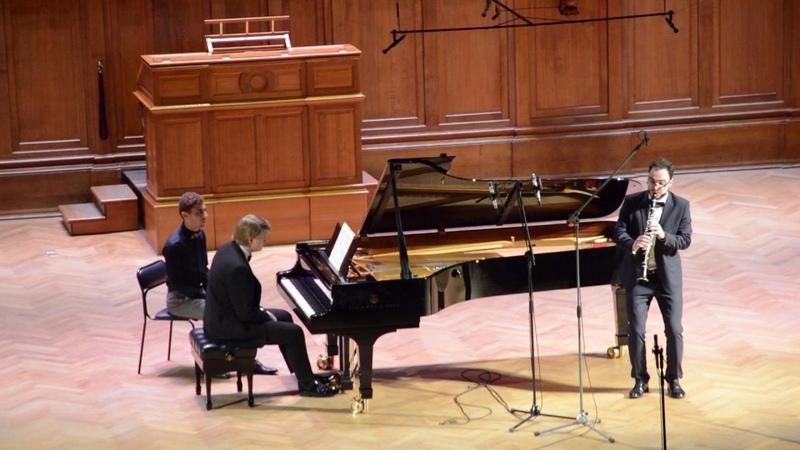 Концерт выпускников Московской консерватории 2017 Ж.Франсе Концерт для кларнета с оркестром