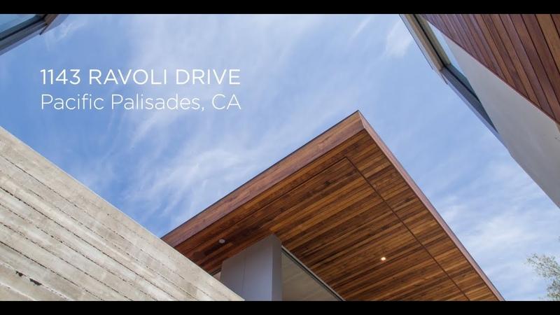1143 Ravoli Drive Pacific Palisades California Modern Masterpiece