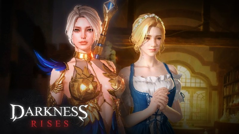 Darkness Rises (Dark Avenger 3) - Wizard Gameplay - Android on PC - Mobile - F2P - EN