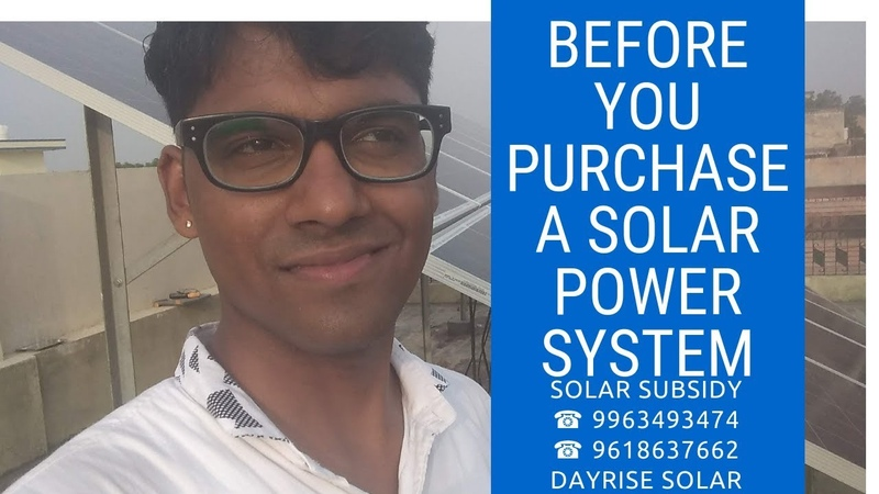 Before You Purchase a Solar Power System Ultimate Guide
