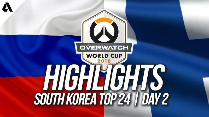 Russia Vs Finland | Overwatch World Cup 2018 Incheon Qualifier Day 2