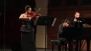 Schumann, Adagio and Allegro op.70- Marina Thibeault, Viola, Janelle Fung, Piano