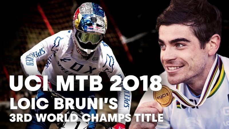 How Loic Bruni Won His Third World Championship Title | UCI MTB 2018