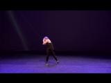 Показательное выступление Ершовой Елизаветы - хореографа гру
