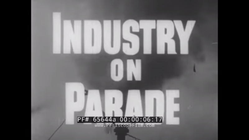 INDUSTRY ON PARADE KANSAS RURAL NEWSPAPERS CARGO AIRLINES HEARING AIDS PANCAKES 65644a