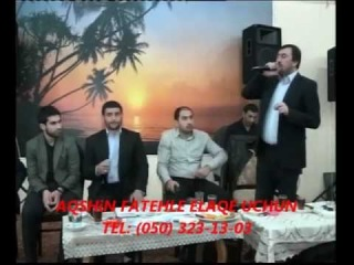 Aqshin Fateh & Vuqar Bileceri & Elxan Muntezir - Terki imamet Deyilik Lenkeran Toyu 2013 Yeni