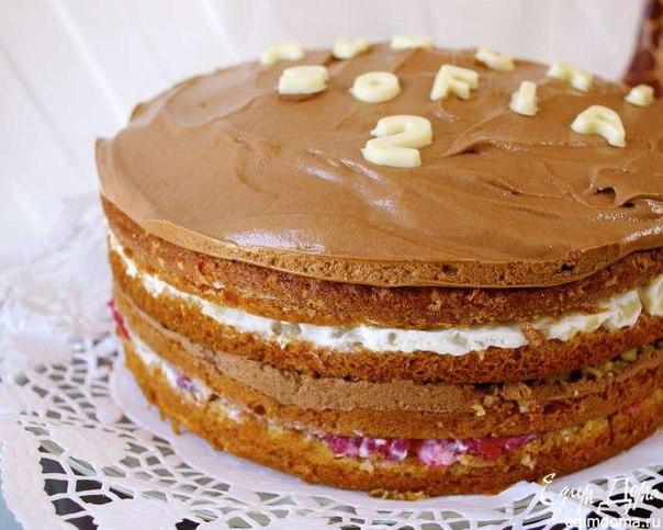 Фото торта с шоколадной глазурью
