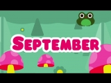 Months of the Year Song - 12 Months of the Year Song for Kids - The Kiboomers