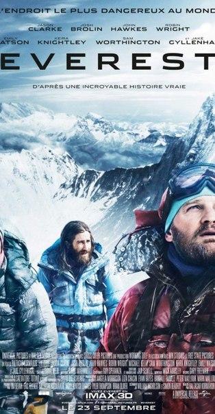 Подборка интересных и впечатляющих фильмов про покорение Эвереста.