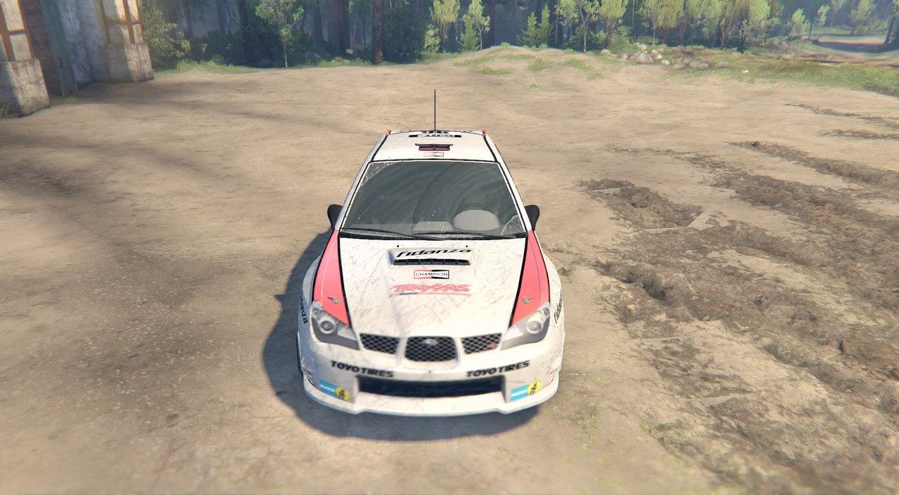 Subaru Impreza WRX для Spintires - Скриншот 1